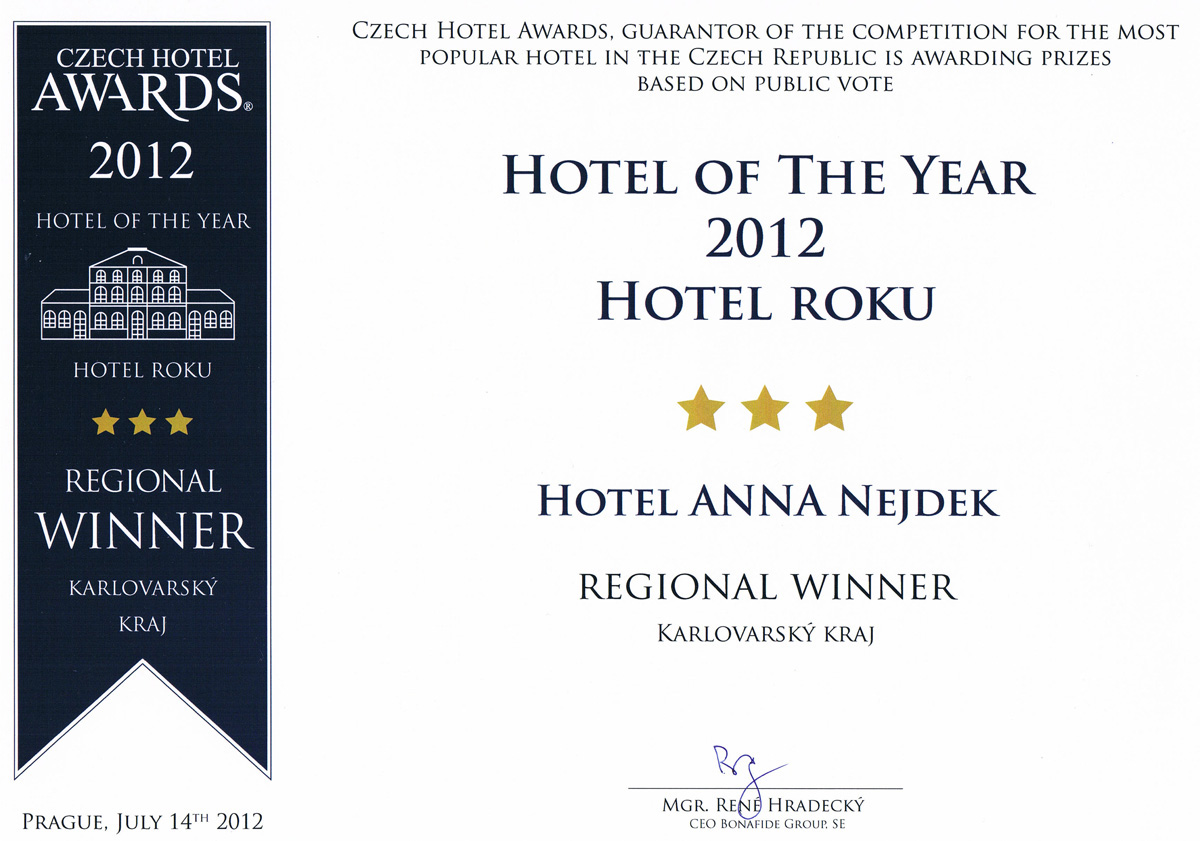 hotel awards web